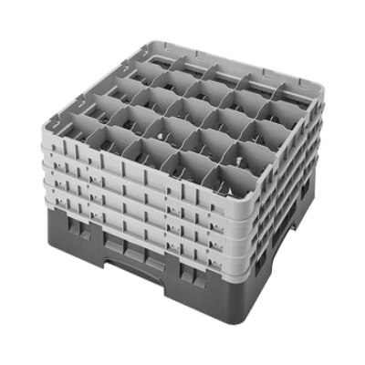 Cambro 25S900416 Camrack Glass Rack with 4 Extenders