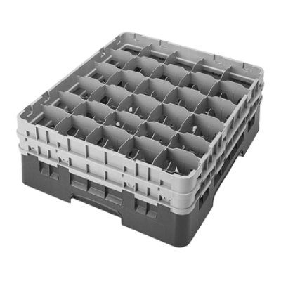 Cambro 30S434167 Camrack Glass Rack with 2 Extenders