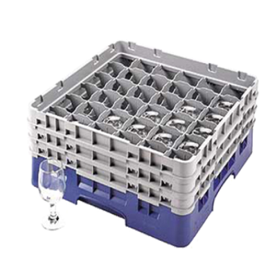 Cambro 36S638163 Camrack Glass Rack with 3 Extenders