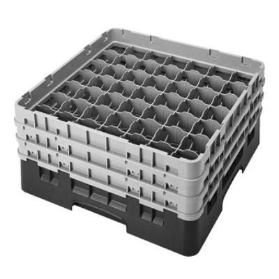 Cambro 49S434184 Camrack Glass Rack with 2 Extenders