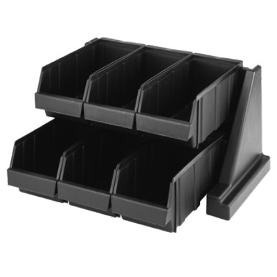 Cambro 6RS6131 Organizer Rack with 6 Bins