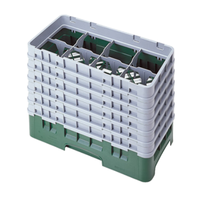 Cambro 8HS1114151 Camrack Glass Rack with 6 Extenders