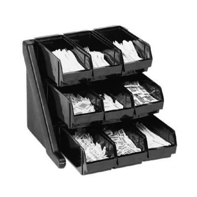 Cambro 9RS9480 Organizer Rack with 9 Bins