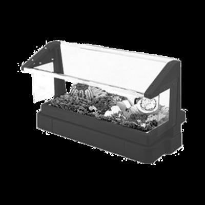 Cambro BBR480186 Tabletop Salad Bar with Sneeze Guard