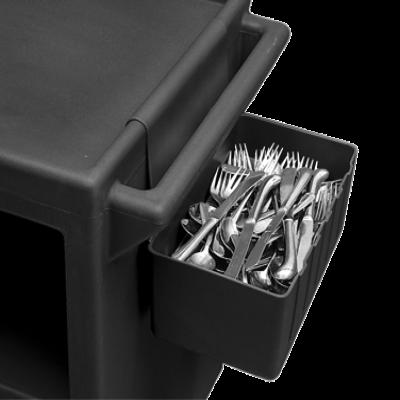 Cambro BC1115SH131 Silverware Holder 1.75 Gallon