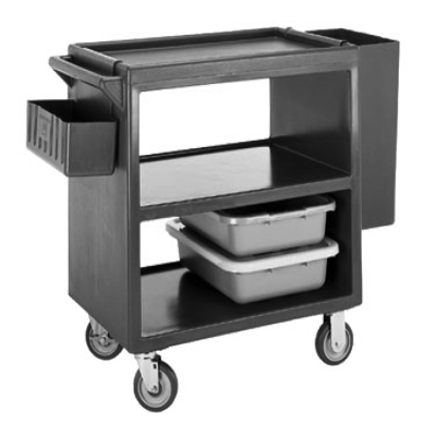 Cambro BC2304S157 Service Cart Open Design