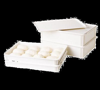 "Cambro DB18266CW148 Pizza Dough Box 26""L X 18""W X 6""D"