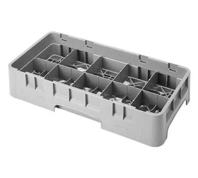 "Cambro Half Size 2-5/8""H 10-Compartment Camrack"