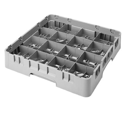 """Cambro Full Size 2-5/8""""H 16-Compartment Camrack"""
