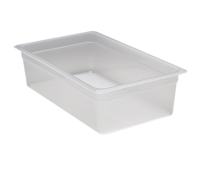 """Cambro Translucent Full Size, 6""""D Food Pans"""