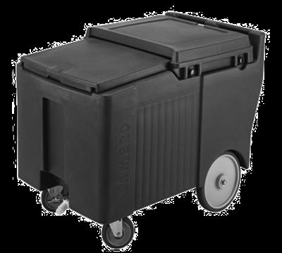 Cambro ICS175LB110 Black SlidingLid Short Ice Caddy