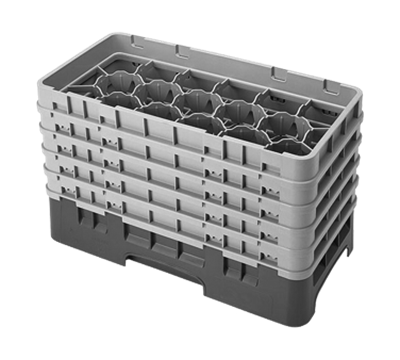 "Cambro 10-1/8""H Half Size 17-Compartment Camracks"