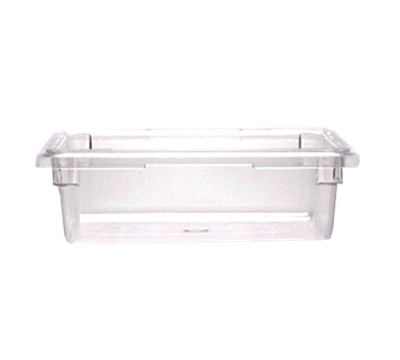 "Cambro Camwear 12""L x 18""W x 6""H Clear Food Storage Boxes"