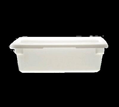 """Cambro Poly 12""""L x 18""""W x 6""""H White Food Storage Boxes"""
