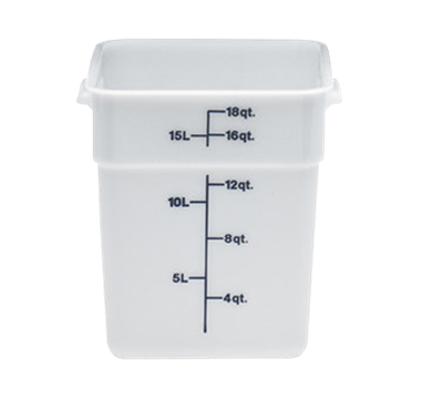 Cambro Poly 18 qt. CamSquare Containers