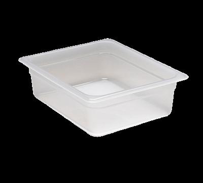 "Cambro Translucent 1/2 Size 4""D Food Pans"