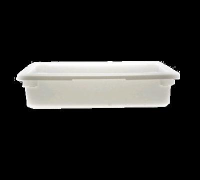 "Cambro Poly 18""L x 26""W x 6""H Natural White Food Storage Boxes"