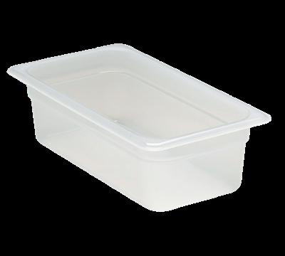 "Cambro Translucent 1/3 Size 4""D Food Pans"