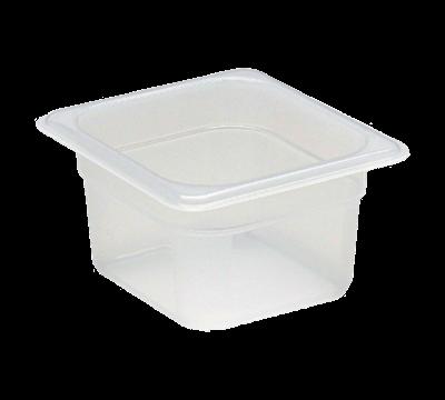"Cambro Translucent 1/6 Size 4""D Food Pans"