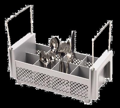 "Cambro Half Size 4-3/4""H Flatware Basket with Handles"