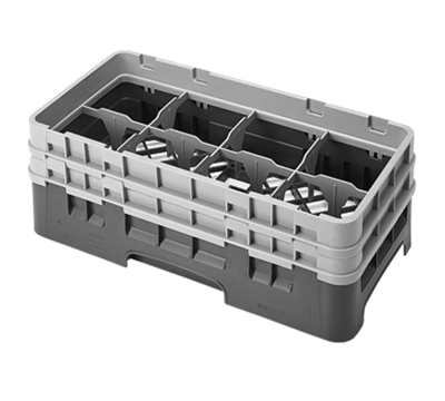 "Cambro 5-1/4""H Half Size 8-Compartment Camracks"