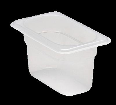 "Cambro Translucent 1/9 Size 4""D Food Pans"