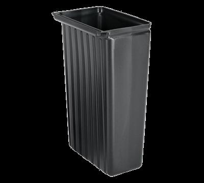Cambro 8 Gallon Black Trash Container