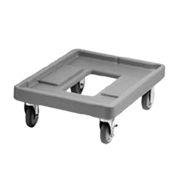 "Cambro 18"" x 25"" Black Camdolly"
