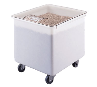 Cambro 32 Gallon White Ingredient Bin