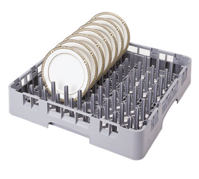 Cambro 9 x 9 Gray Camrack Peg Racks