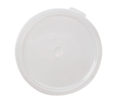 Cambro Translucent 6 & 8 qt. Round Container Covers