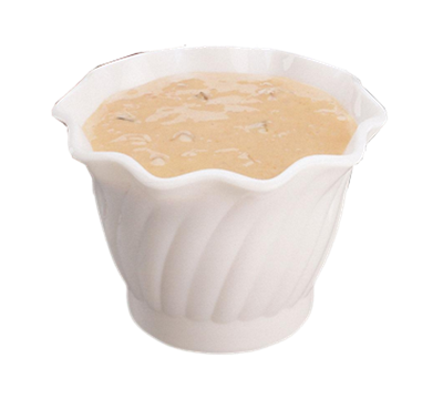 Cambro SRB5CW135 Swirl Bowl Serving
