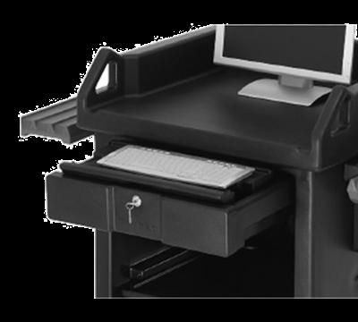Cambro VCS32KEYT110 Versa Cart Keyboard Tray Black