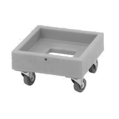 "Cambro CD1313401 Camdolly 16-5/64""L X 16-5/64""W X 8-1/4""H"