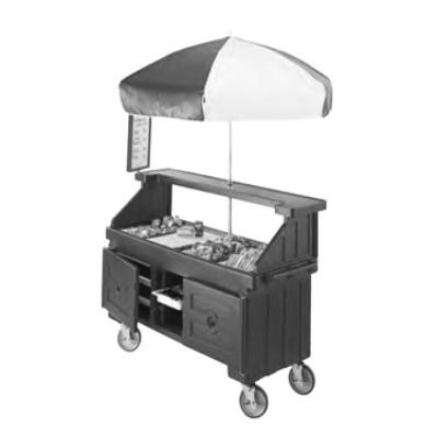 """Cambro CVC724519 Camcruiser Vending Cart 74-1/4"""" X 31-3/4"""" X 94""""H"""