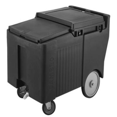 Cambro ICS175LB131 Slidinglid Ice Caddy Mobile