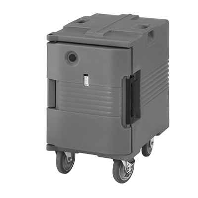 "Cambro UPCHW400110 Camcarrier Heated Ultra Pancarrier w/ Swivel & Fixed 6"" Casters"