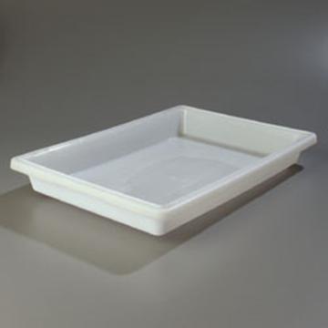"Carlisle 18"" x 26"" x 3-1/2"" White Food Storage Box"