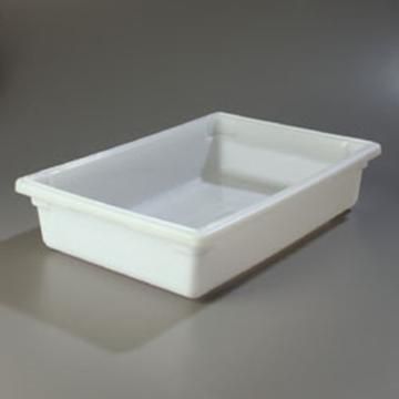 "Carlisle 18"" x 26"" x 6"" White Food Storage Box"