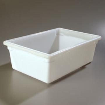 "Carlisle 18"" x 26"" x 9"" White Food Storage Box"