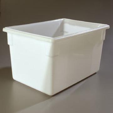 "Carlisle 18"" x 26"" x 15"" White Food Storage Box"