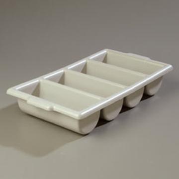 Carlisle Gray Compartmented Silverware Tray