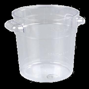 Carlisle StorPlus 1 qt Clear Round Container