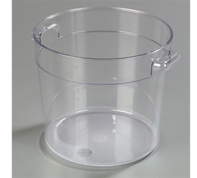 Carlisle StorPlus 6 qt Clear Round Container