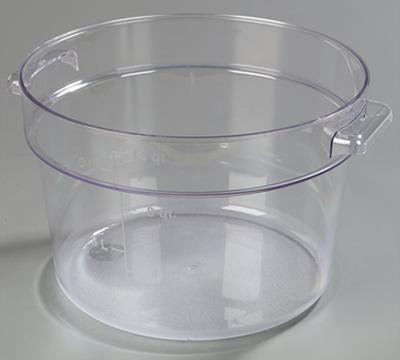 Carlisle StorPlus 12 qt Clear Round Container