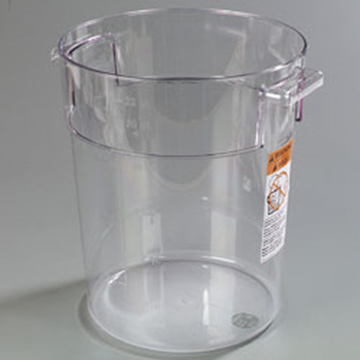 Carlisle StorPlus 22 qt Clear Round Container