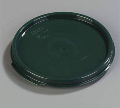 Carlisle StorPlus Forest Green Lid for 2-4 qt Round Containers