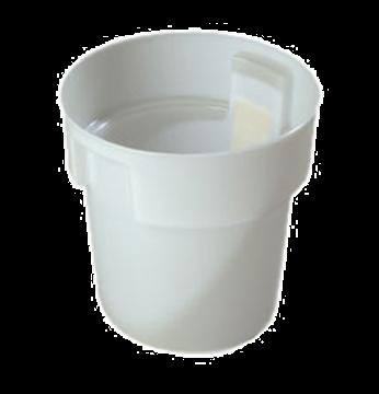 Carlisle White Polyethylene 18 qt Bain Marie