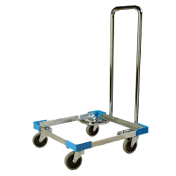 Carlisle C2222A14 Open Aluminum Rack Dolly with Handle