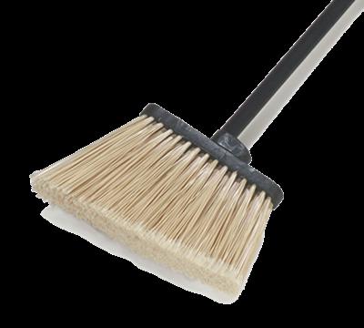 "Carlisle 48"" Duo-Sweep Angled Broom"